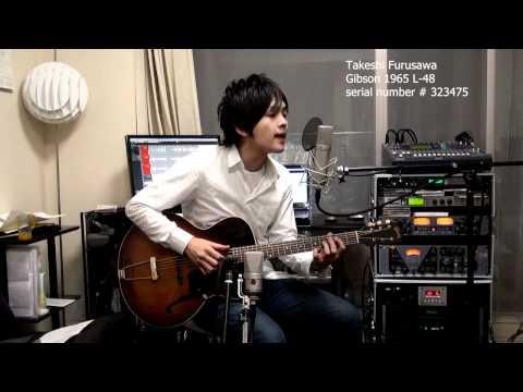 Love In Vain Robert Johnson Eric Clapton Gibson 1965 L-48 古澤剛 Takeshi Furusawa