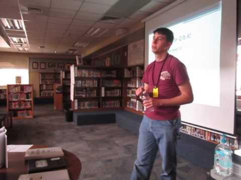 Kyrene del Pueblo Middle School Author Visit 1-29-16 Part 6