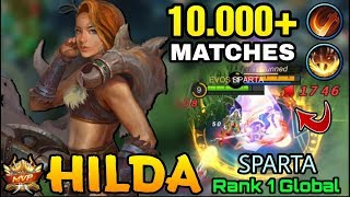Hilda 10.000+ Matches with Execute META - Top 1 Global Hilda SPARTA - Mobile Legends
