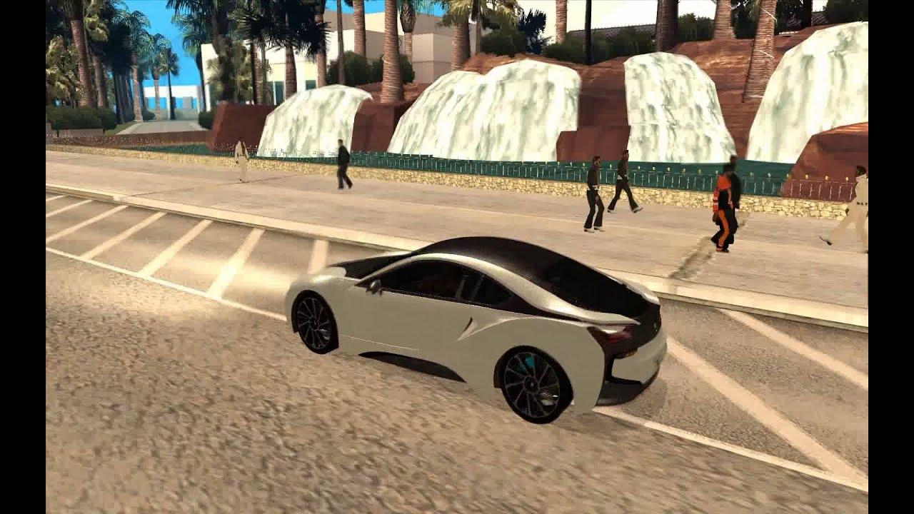 68 Bmw I8 2013 New Cars Gta San Andreas Youtube
