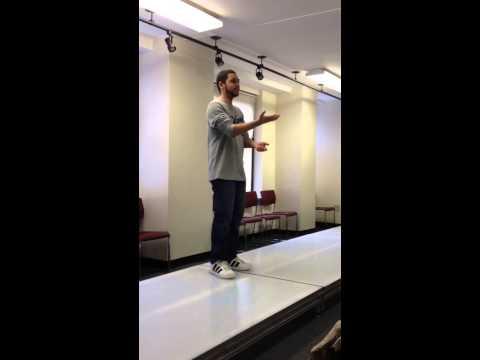 My comedic monologue