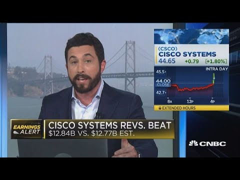 Cisco fourth quarter earnings beats expectations