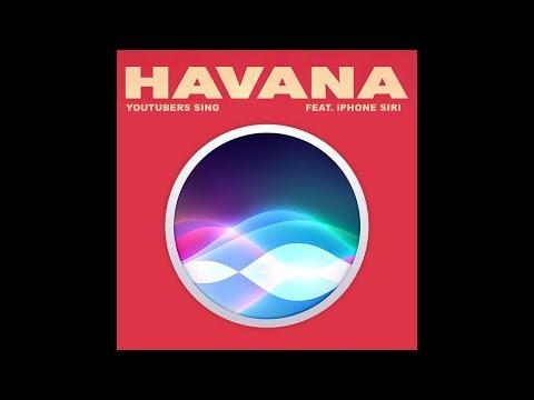 Siri Sings Havana PARODY