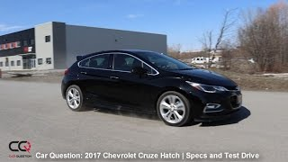2017 Chevrolet Cruze Hatchback | Specs and Roadhandling | The MOST complete review: Part 3/7
