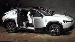 マツダ、初の量産EV 20年に欧州で発売(プレス発表ノーカット、東京モーターショー2019)