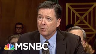 Did Jeff Sessions Seek 'Dirt' On James Comey Before Firing? | AM Joy | MSNBC