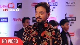 Irrfan Khan at Filmfare Awards 2016   Red Carpet   ViralBollywood