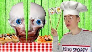 ГОТОВКА ЧЕЛЛЕНДЖ С СКРОМНИКОМ to fu oh sushi ВМЕСТЕ SCP НА КАНАЛЕ GAMES FACTORY