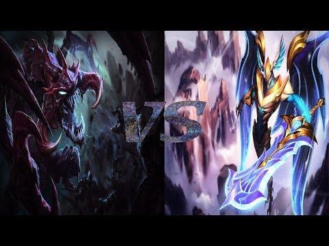 Cho'Gath Vs Aatrox Top Lane Ranked League Of Legends S9