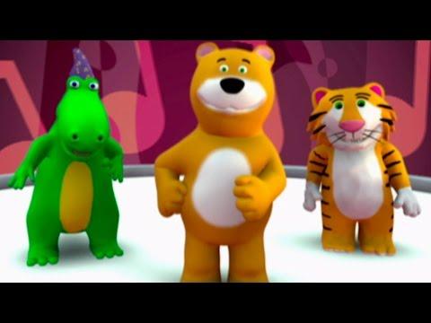 Vinko The Dancing Bear Song Sing Along | Nursery Rhymes Kids Songs |   From Baby Genius