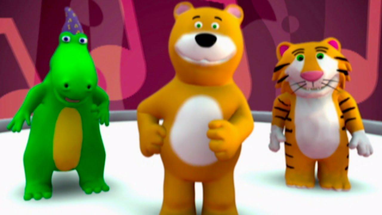 Dancing bear hub-4784