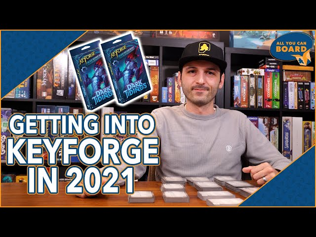 Getting into KEYFORGE in 2021 | What You Need to Know (DARK TIDINGS Overview)