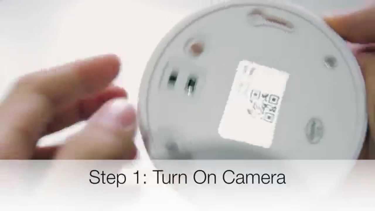 How to Setup UFO WiFi Camera