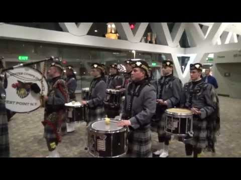 Army vs. Navy Pipes and Drums Battle of the Bands 2014 - March Medley