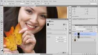 Урок Как удалить красноту с лица и отбеливание зубов в Фотошоп Уроки Фотошопа