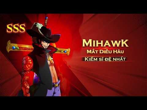 Kho Báu Huyền Thoại | Giới Thiệu Mắt Diều Hâu Mihawk SSs