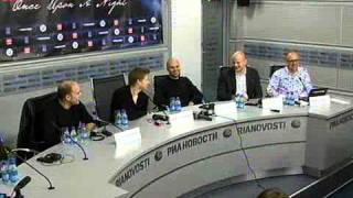 Ferry Corsten - Once Upon A Night (Пресс - Конференция)