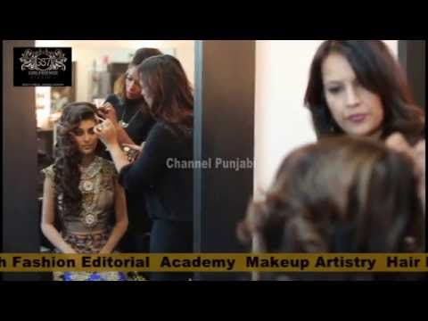 Indian bridal Makeup Artistry and Hairdesign School & Academy Girlfriendz Studio 7