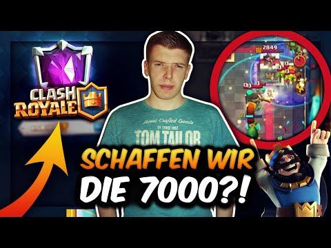 EPISCHER 7000 TROPHÄEN PUSH!   ENDLICH WIEDER GANZ OBEN?!   Clash Royale Deutsch