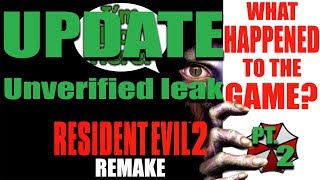 (Update) What Happened to the Resident Evil 2 Remake? - Unverified Leak thumbnail