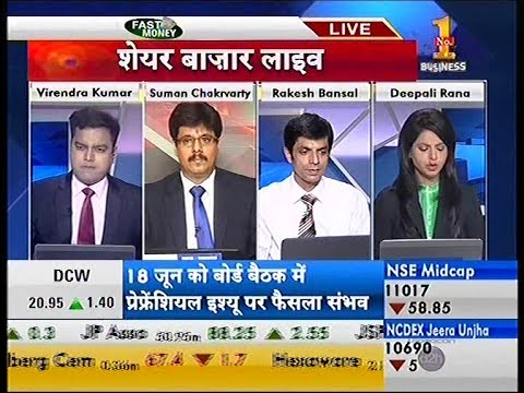 Achiievers Equities Ltd at Zee Business Share Bazar LIVE on11th of JUN 2014 at 8 25 AM