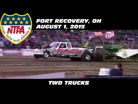 8/1/15 NTPA Fort Recovery, OH Session 2 TWD Trucks