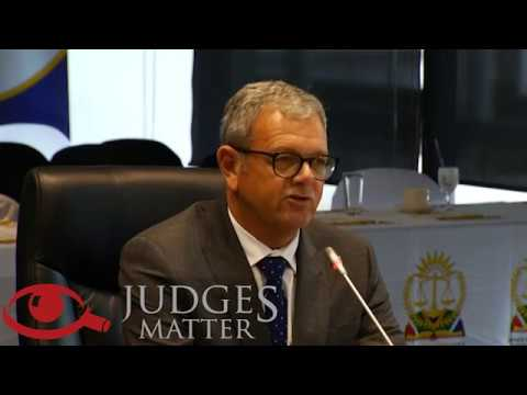 JSC interview of Mr S J Koen for the Western Cape High Court (Judges Matter)