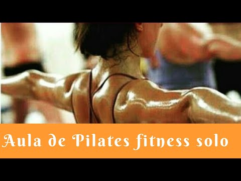 Pilates Fitness solo, aula de mat