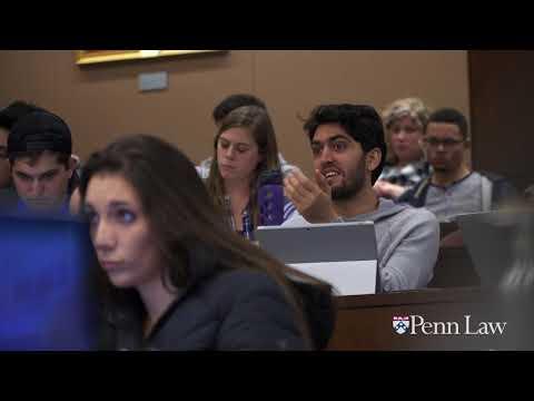 Why law school, why Penn Law?