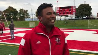 York Lions | Post-game interview with Zeeshan Minhas (OUA Final vs. Guelph)