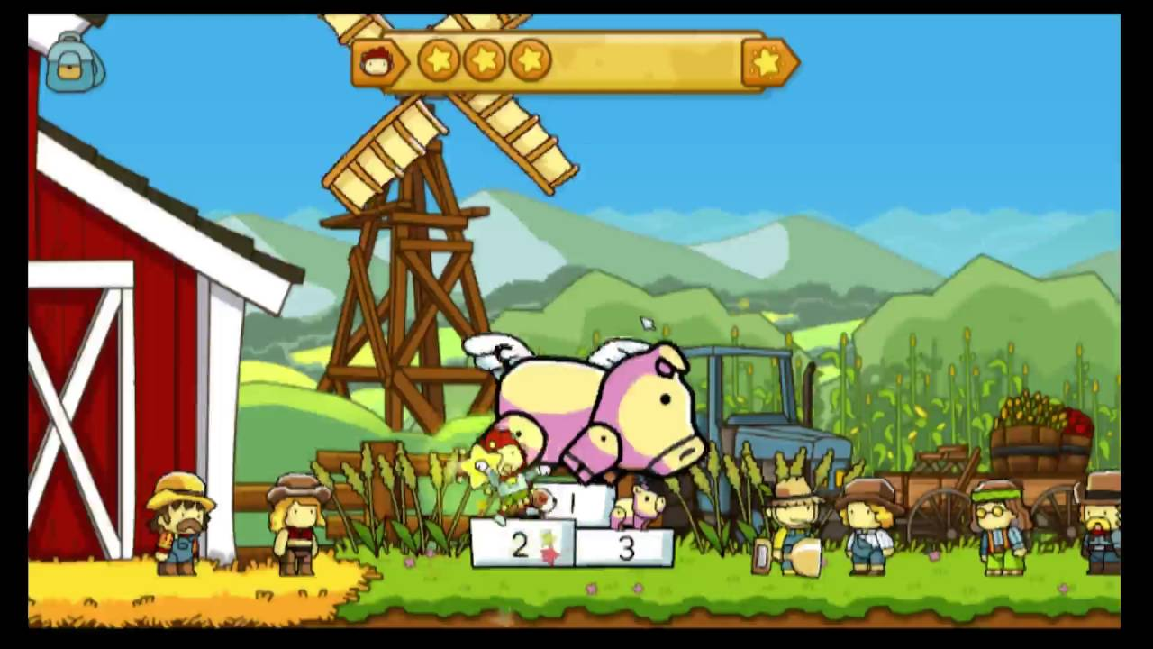 Scribblenauts (Un)Limited Part 1 No notebook or travel globe playthrough!