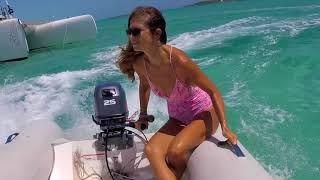 When a girl drives a dinghy // SailOceans