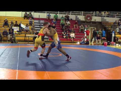 77 kg, Michael Hooker, Army vs. Austin Craig, Navy