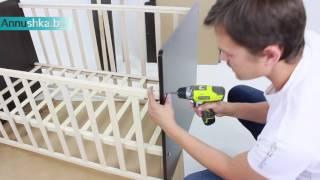 Видео обзор и сборка: Кровать трансформер СКВ 53403х