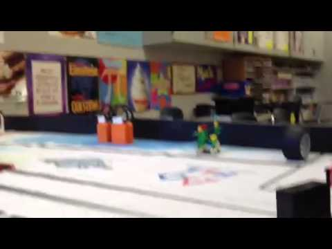 Lego robotics at Grayson county middle school