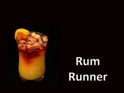Rum Runner Drink Cocktail Recipe
