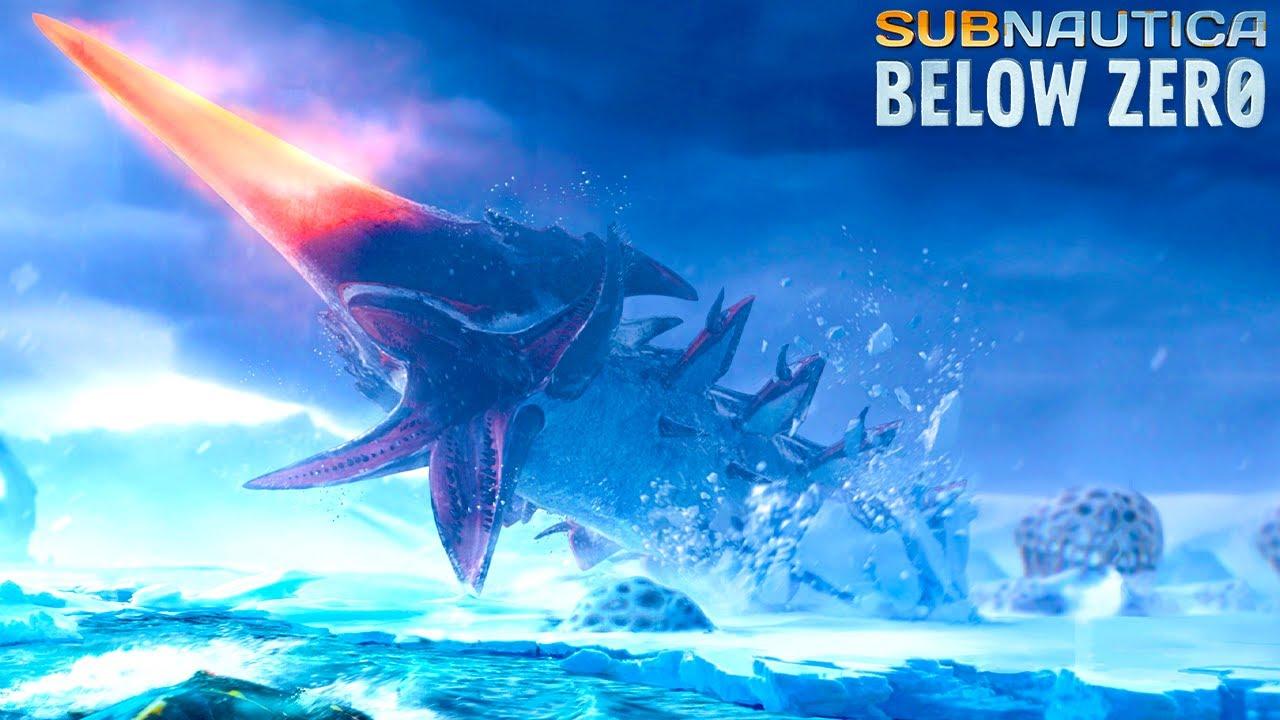 氷の中に住む一番やべぇ怪物に大絶叫!そして基地が進化! - Subnautica: Below Zero #9