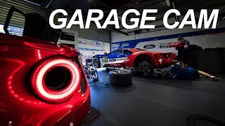 2017 Le Mans 24 Hour - LIVE Ford GT Onboards and Garage Cam - ONBOARD 69