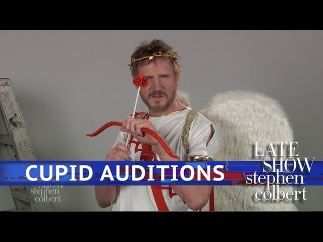 Liam Neeson Unleashes His Gruffness In The Audition For Cupid This Valentine's Day