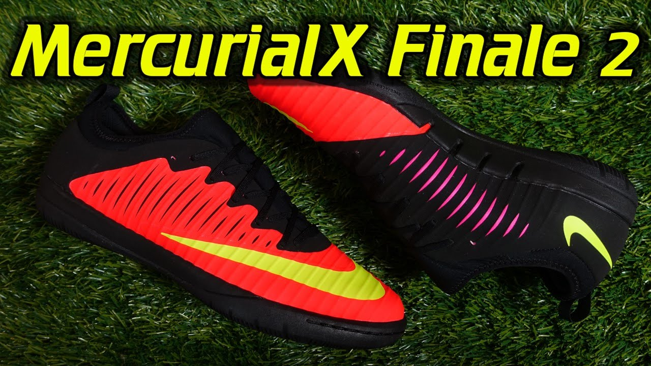 detailed look e8190 1d496 Nike MercurialX Finale 2 Indoor (Spark Brilliance Pack) - Review + On Feet