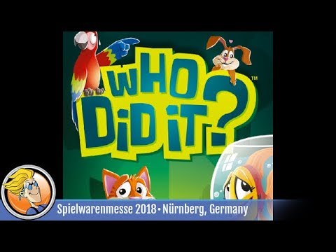 Who Did It? — Game Preview At Spielwarenmesse 2018