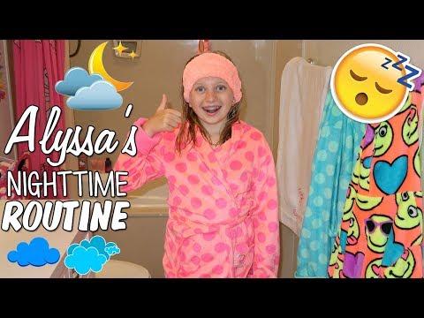 Alyssa&39;s Nighttime Routine