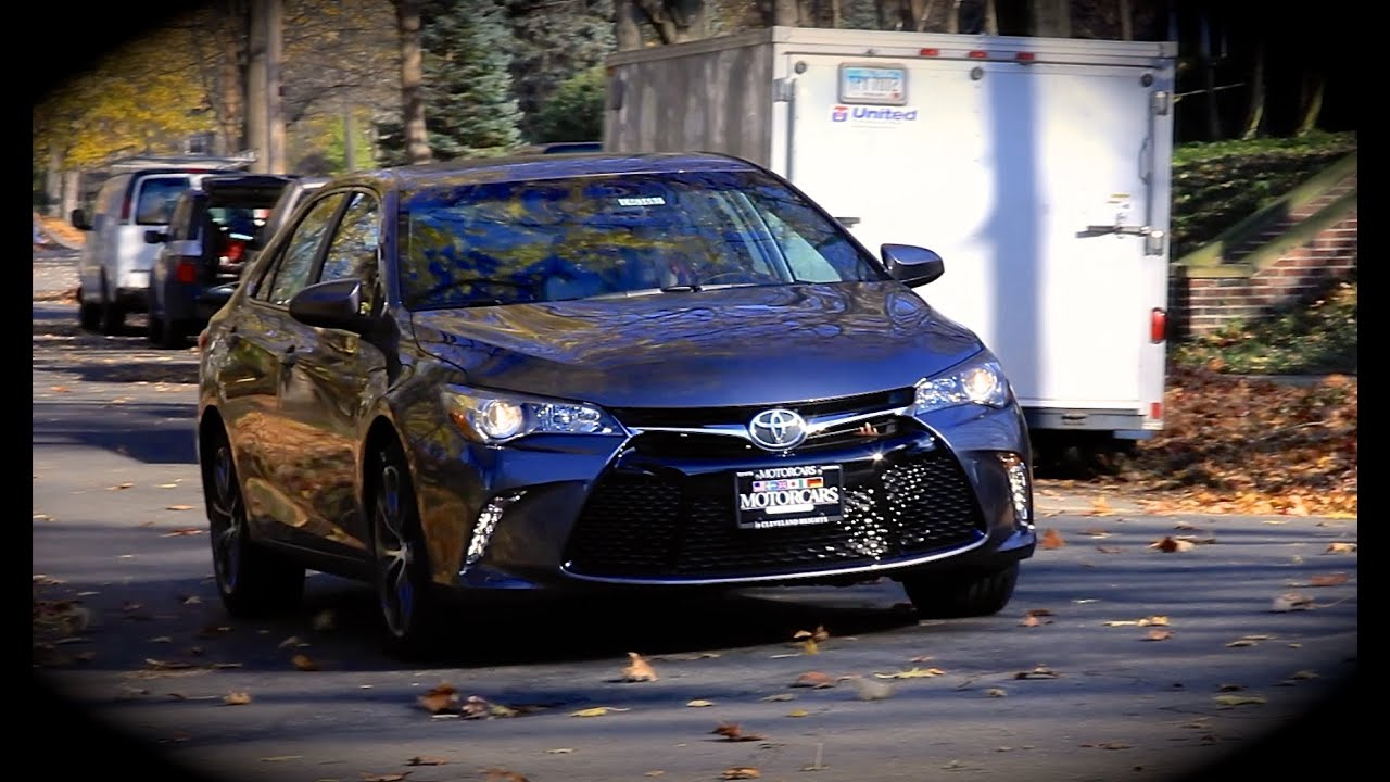 2015 Toyota Camry Xse 2 5l Start Up Review Exhaust
