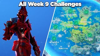 Fortnite All Week 9 Challenges Guide (Fortnite Chapter 2 Season 3)