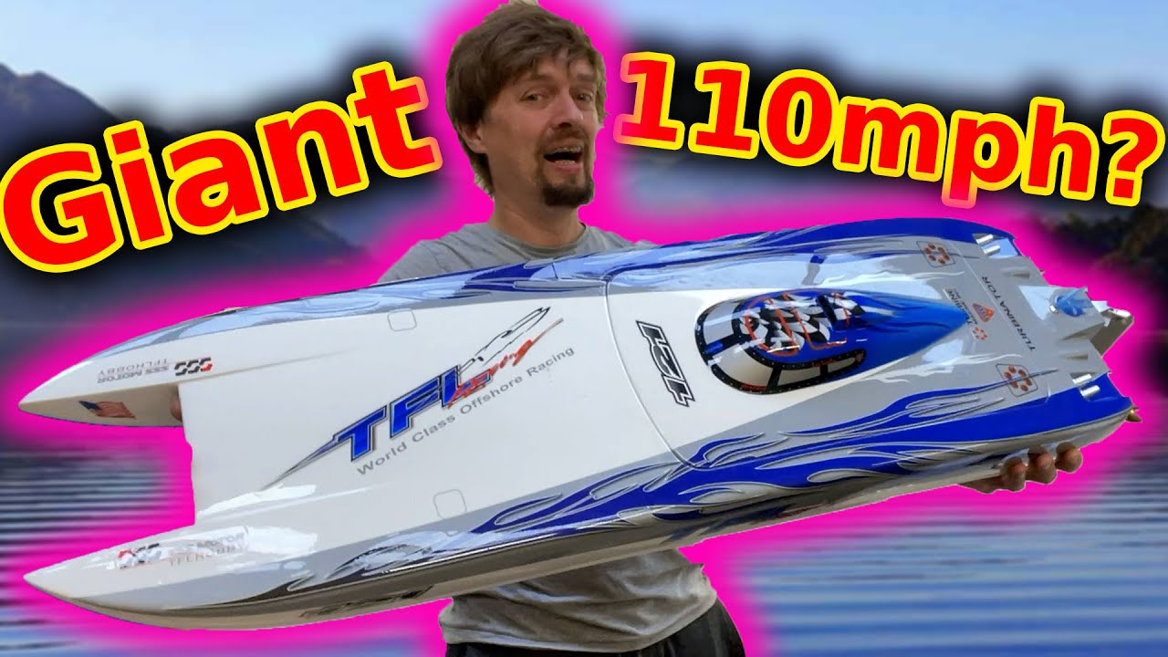 Twin Motor 12s RC Speed Boat ***fastest RTR boat in the world!***