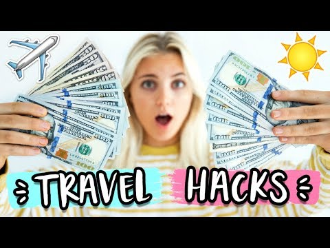 TRAVEL HACKS FOR SPRING BREAK! Travel for CHEAP 2018! | Aspyn Ovard