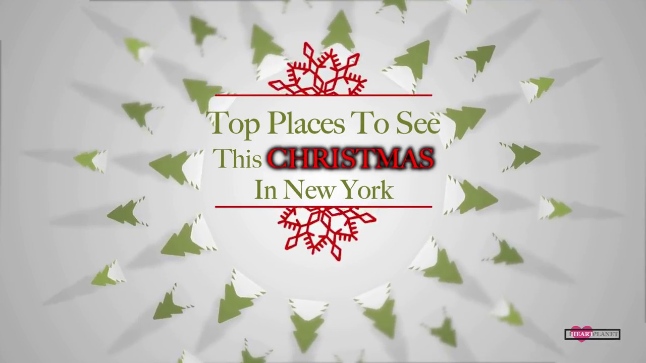 Top Places To Visit In New York In Christmas || Christmas Vlog ...