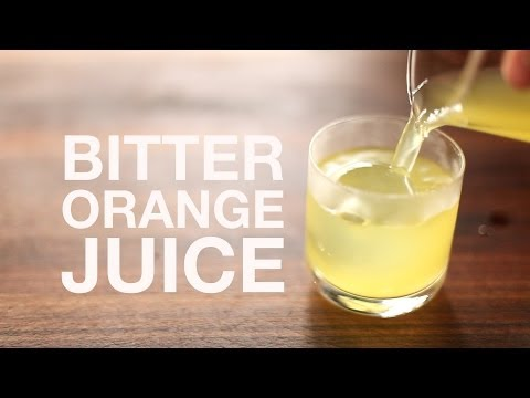 The Ultimate OJ: Bitter Clarified Orange Juice From Scratch