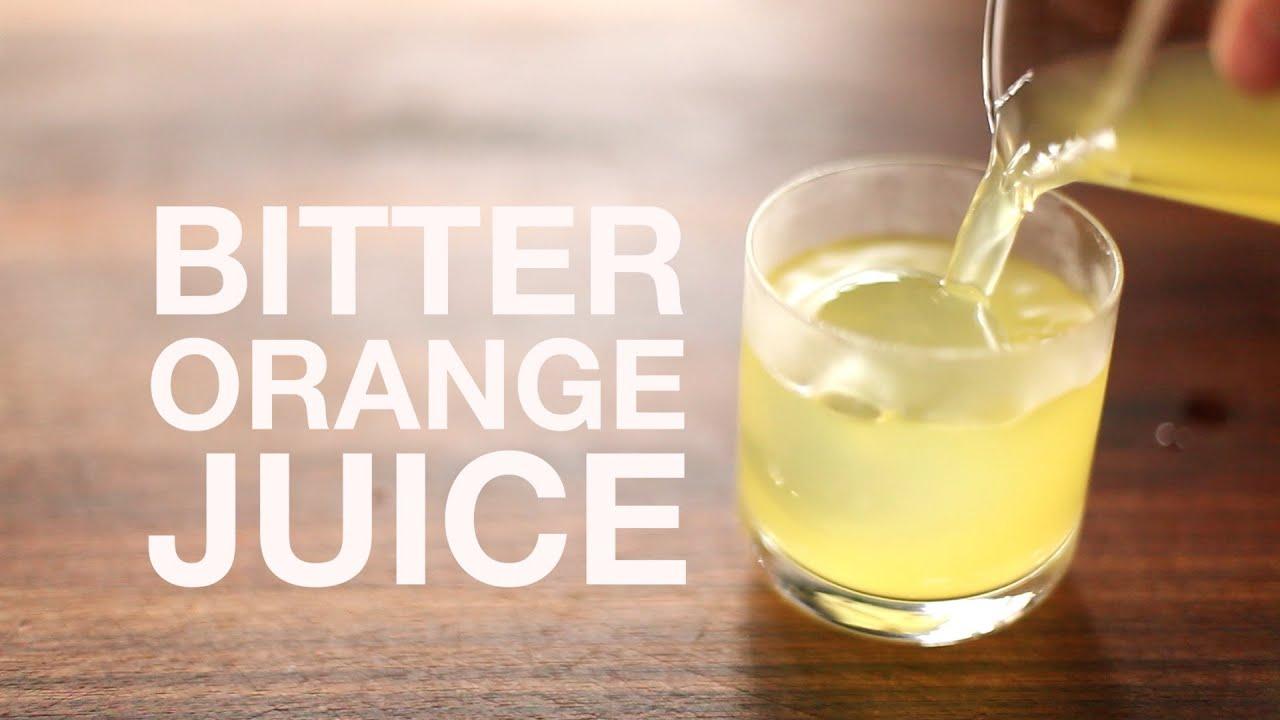 The Ultimate Oj Bitter Clarified Orange Juice From -7819
