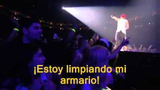 Eminem - Cleaning Out My Closet & Mockingbird Live Subtituladas en Español